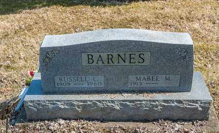 BARNES, MABEL M. - Wayne County, Ohio | MABEL M. BARNES - Ohio Gravestone Photos