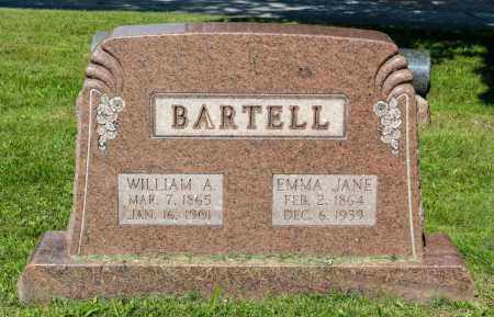 BARTELL, WILLIAM ALBERT - Wayne County, Ohio | WILLIAM ALBERT BARTELL - Ohio Gravestone Photos