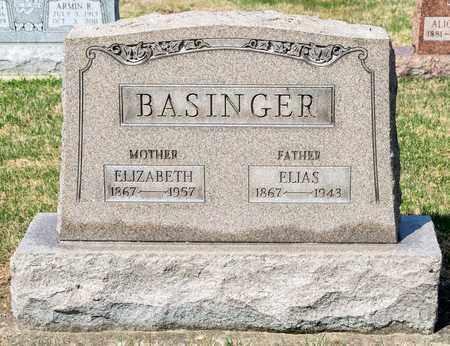 BASINGER, ELIZABETH - Wayne County, Ohio | ELIZABETH BASINGER - Ohio Gravestone Photos