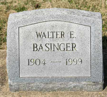 BASINGER, WALTER E - Wayne County, Ohio | WALTER E BASINGER - Ohio Gravestone Photos