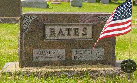 BATES, MERTON A. - Wayne County, Ohio | MERTON A. BATES - Ohio Gravestone Photos