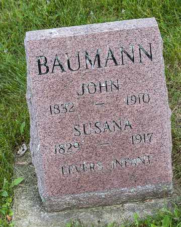 BAUMANN, SUSANA - Wayne County, Ohio | SUSANA BAUMANN - Ohio Gravestone Photos