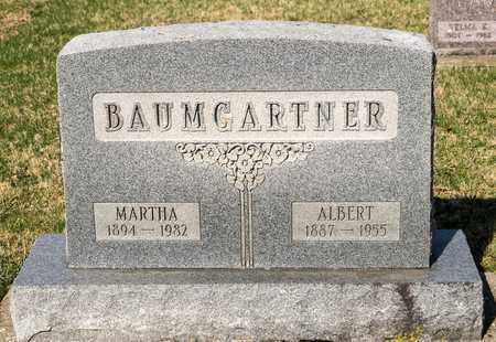 BAUMGARTNER, MARTHA - Wayne County, Ohio | MARTHA BAUMGARTNER - Ohio Gravestone Photos