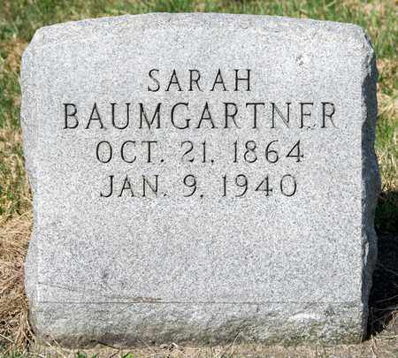 BAUMGARTNER, SARAH - Wayne County, Ohio | SARAH BAUMGARTNER - Ohio Gravestone Photos