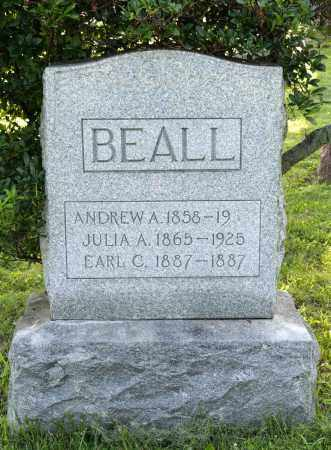 BEALL, JULIA ADELLE - Wayne County, Ohio | JULIA ADELLE BEALL - Ohio Gravestone Photos