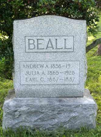 BEALL, ANDREW A. - Wayne County, Ohio | ANDREW A. BEALL - Ohio Gravestone Photos