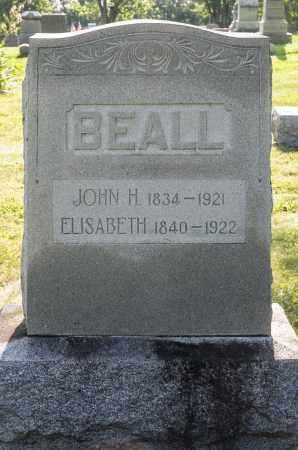 BEALL, ELISABETH - Wayne County, Ohio | ELISABETH BEALL - Ohio Gravestone Photos