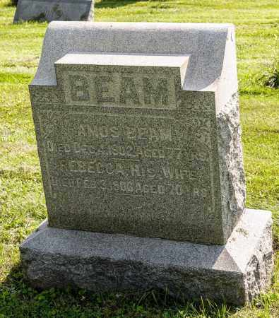 BEAM, AMOS - Wayne County, Ohio | AMOS BEAM - Ohio Gravestone Photos