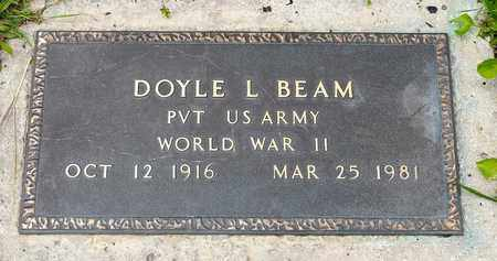 BEAM, DOYLE L. - Wayne County, Ohio | DOYLE L. BEAM - Ohio Gravestone Photos