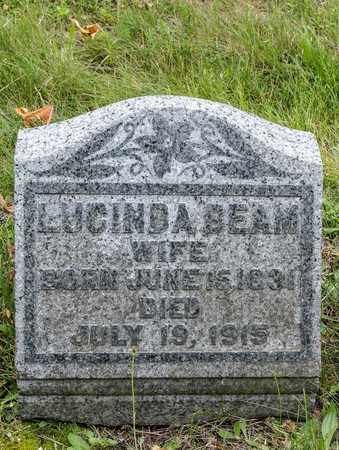 BEAM, LUCINDA - Wayne County, Ohio | LUCINDA BEAM - Ohio Gravestone Photos
