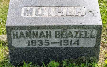 BEAZELL, HANNAH - Wayne County, Ohio | HANNAH BEAZELL - Ohio Gravestone Photos