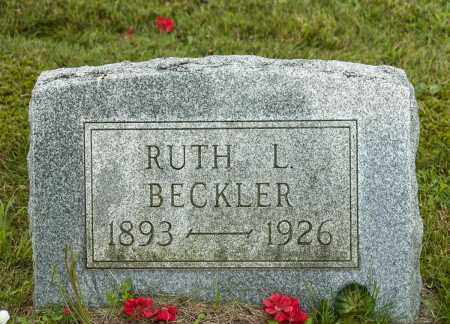 BECKLER, RUTH L. - Wayne County, Ohio | RUTH L. BECKLER - Ohio Gravestone Photos