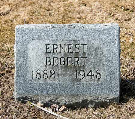 BEGERT, ERNEST - Wayne County, Ohio | ERNEST BEGERT - Ohio Gravestone Photos