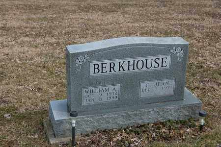 BERKHOUSE, WILLIAM A. - Wayne County, Ohio | WILLIAM A. BERKHOUSE - Ohio Gravestone Photos