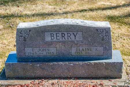 BERRY, E. JOHN - Wayne County, Ohio | E. JOHN BERRY - Ohio Gravestone Photos
