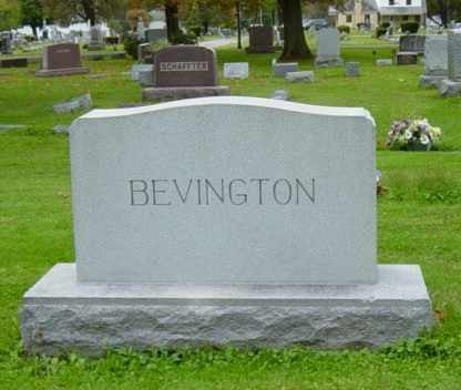 BEVINGTON, ZELLA M. - Wayne County, Ohio | ZELLA M. BEVINGTON - Ohio Gravestone Photos