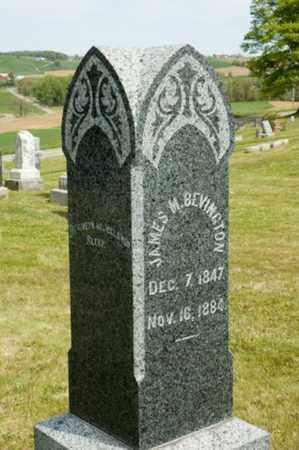 BEVINGTON, JAMES M. - Wayne County, Ohio | JAMES M. BEVINGTON - Ohio Gravestone Photos