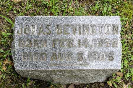 BEVINGTON, JONAS - Wayne County, Ohio | JONAS BEVINGTON - Ohio Gravestone Photos