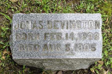 BEVINGTON, JONAS - Wayne County, Ohio   JONAS BEVINGTON - Ohio Gravestone Photos