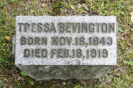 BEVINGTON, TRESSA - Wayne County, Ohio | TRESSA BEVINGTON - Ohio Gravestone Photos