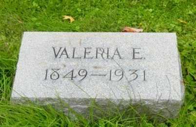 WEHRLY BEVINGTON, VALERIA E. - Wayne County, Ohio | VALERIA E. WEHRLY BEVINGTON - Ohio Gravestone Photos