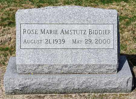 BIDDIER, ROSE MARIE - Wayne County, Ohio | ROSE MARIE BIDDIER - Ohio Gravestone Photos