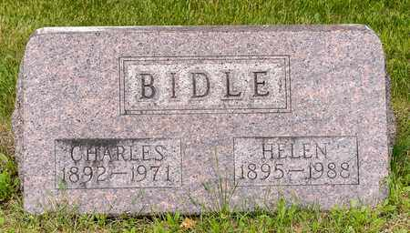 BIDLE, HELEN - Wayne County, Ohio | HELEN BIDLE - Ohio Gravestone Photos