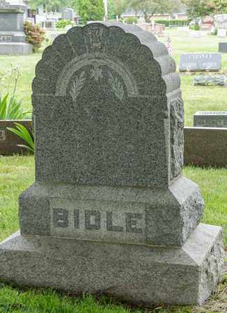 BIDLE, GEORGE O. - Wayne County, Ohio | GEORGE O. BIDLE - Ohio Gravestone Photos