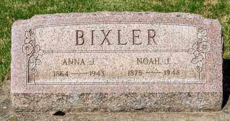 BIXLER, ANNA J - Wayne County, Ohio | ANNA J BIXLER - Ohio Gravestone Photos