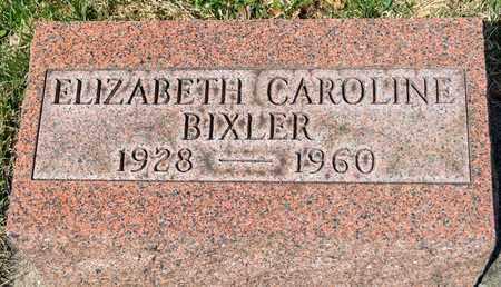BIXLER, ELIZABETH CAROLINE - Wayne County, Ohio | ELIZABETH CAROLINE BIXLER - Ohio Gravestone Photos