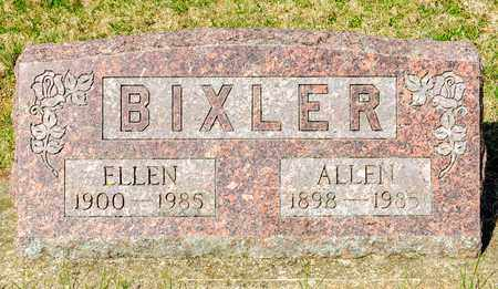 BIXLER, ALLEN - Wayne County, Ohio | ALLEN BIXLER - Ohio Gravestone Photos