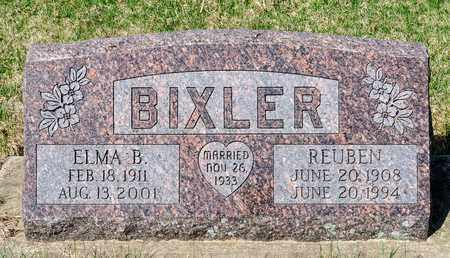 BIXLER, ELMA B - Wayne County, Ohio | ELMA B BIXLER - Ohio Gravestone Photos