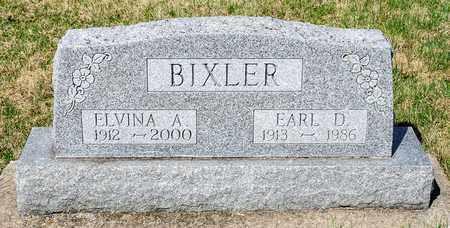 BIXLER, EARL D - Wayne County, Ohio | EARL D BIXLER - Ohio Gravestone Photos