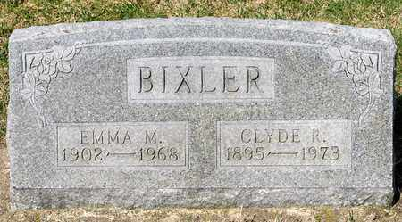 BIXLER, CLYDE R - Wayne County, Ohio | CLYDE R BIXLER - Ohio Gravestone Photos