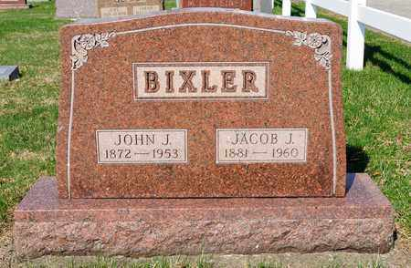 BIXLER, JACOB J - Wayne County, Ohio | JACOB J BIXLER - Ohio Gravestone Photos