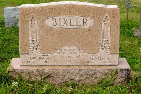 BIXLER, LESTER H. - Wayne County, Ohio | LESTER H. BIXLER - Ohio Gravestone Photos