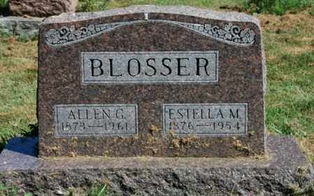 SCOTT BLOSSER, ESTELLA M. - Wayne County, Ohio | ESTELLA M. SCOTT BLOSSER - Ohio Gravestone Photos