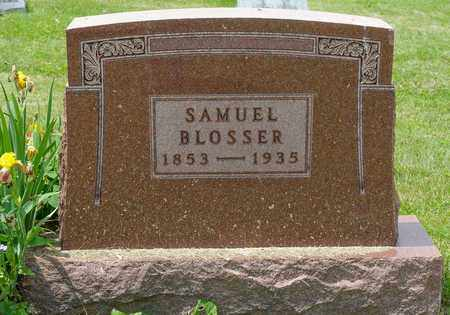 BLOSSER, SAMUEL - Wayne County, Ohio | SAMUEL BLOSSER - Ohio Gravestone Photos