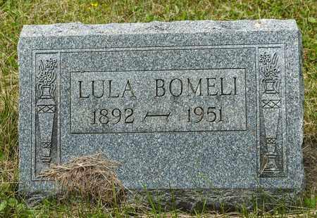 BOMELI, LULA - Wayne County, Ohio | LULA BOMELI - Ohio Gravestone Photos