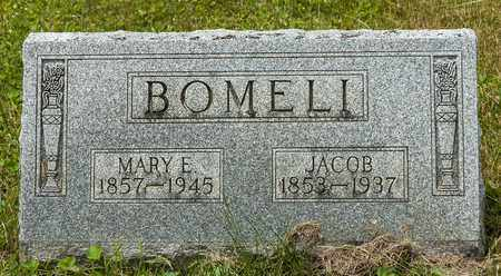 BOMELI, JACOB - Wayne County, Ohio | JACOB BOMELI - Ohio Gravestone Photos