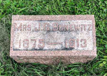 WAYMAN BONEWITZ, MINNIE MAE - Wayne County, Ohio | MINNIE MAE WAYMAN BONEWITZ - Ohio Gravestone Photos