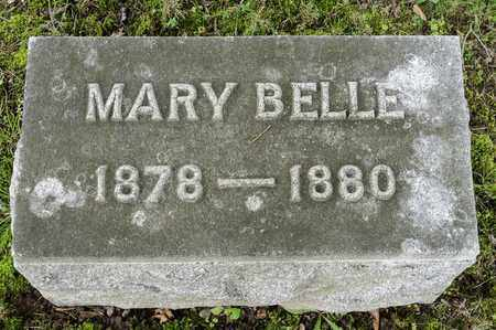 BONEWITZ, MARY BELLE - Wayne County, Ohio | MARY BELLE BONEWITZ - Ohio Gravestone Photos