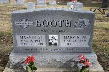 BOOTH, MARVIN - Wayne County, Ohio | MARVIN BOOTH - Ohio Gravestone Photos