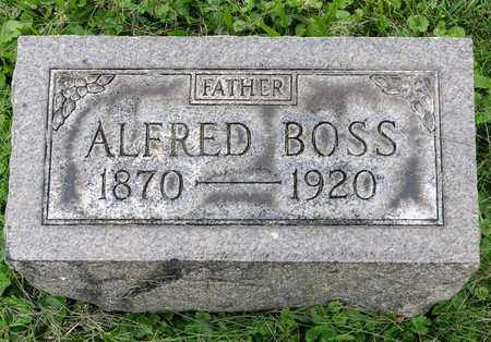 BOSS, ALFRED - Wayne County, Ohio | ALFRED BOSS - Ohio Gravestone Photos