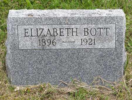 BOTT, ELIZABETH - Wayne County, Ohio | ELIZABETH BOTT - Ohio Gravestone Photos