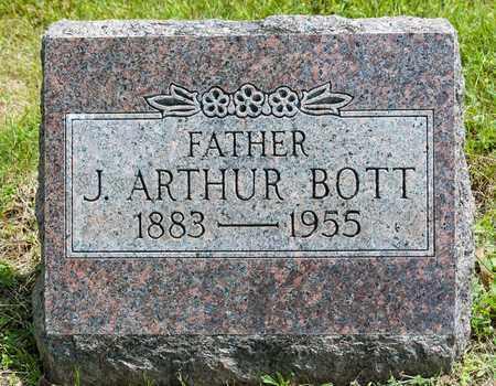 BOTT, JOHN ARTHUR - Wayne County, Ohio | JOHN ARTHUR BOTT - Ohio Gravestone Photos