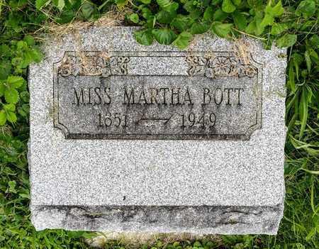 BOTT, MARTHA - Wayne County, Ohio | MARTHA BOTT - Ohio Gravestone Photos