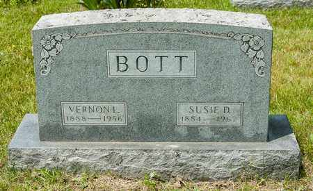 BOTT, SUSIE D. - Wayne County, Ohio | SUSIE D. BOTT - Ohio Gravestone Photos