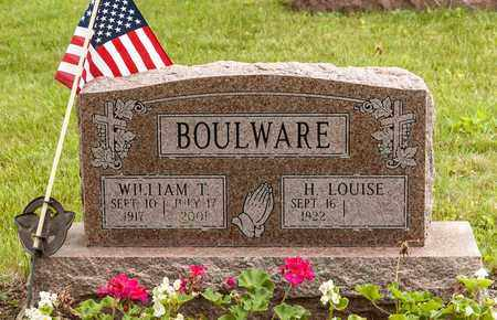 BOULWARE, WILLIAM T. - Wayne County, Ohio | WILLIAM T. BOULWARE - Ohio Gravestone Photos