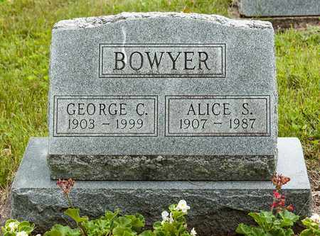 BOWYER, GEORGE C. - Wayne County, Ohio | GEORGE C. BOWYER - Ohio Gravestone Photos
